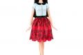 Barbie Fashionistas n°019 - Ruby Red Floral #DGY61 (2016)