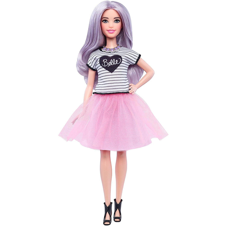 Barbie Fashionistas n°054 - Pink Tulle Skirt - Petite #DVX76 (2017